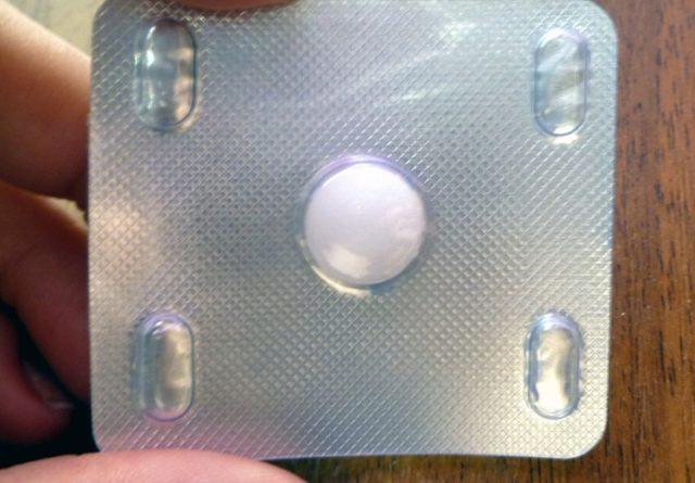 Таблетка Альбендазола
