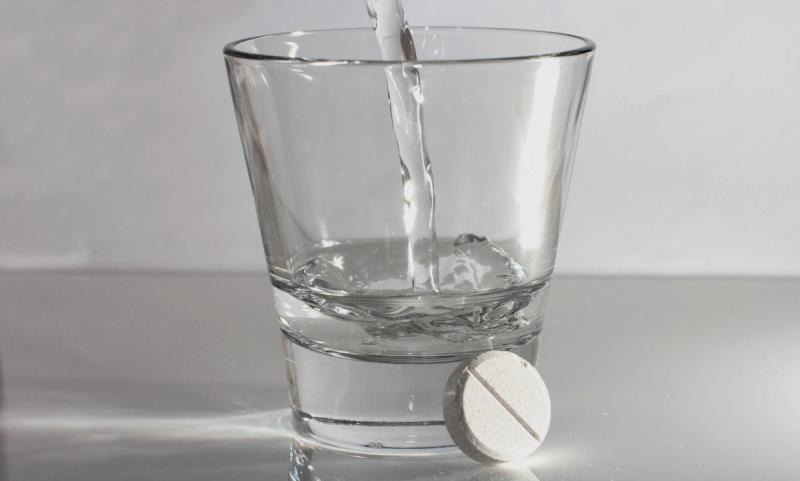 таблетка нистатина на стакан воды
