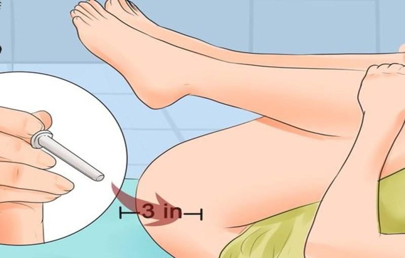 Как сделать клизму в домашних условиях самому себе грушей 11