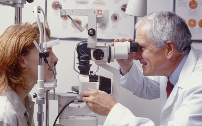 На приему у офтальмолога