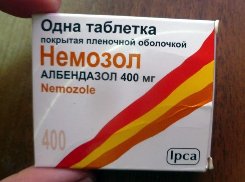 немозол от глистов профилактика