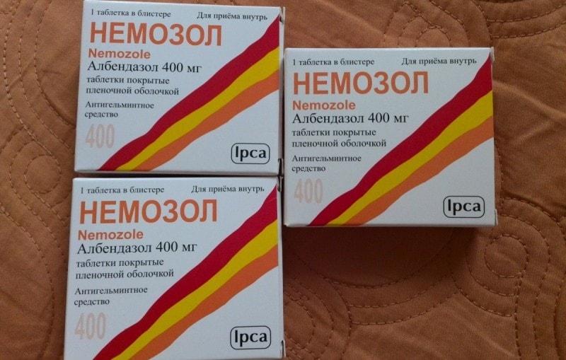 Препарат Немозол