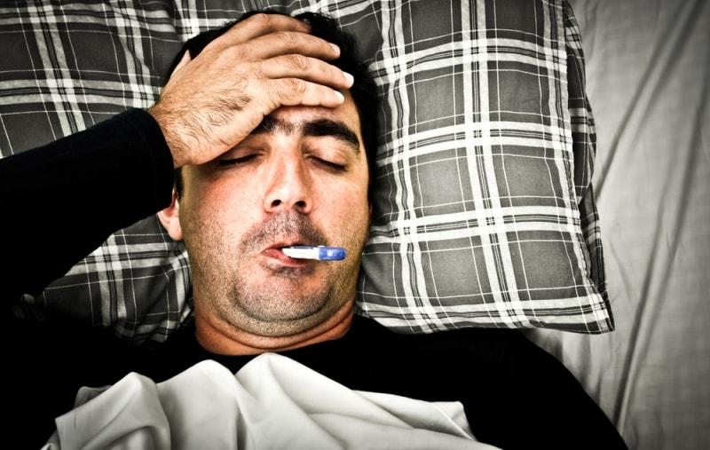 Ухудшение здоровья при трихинеллёзе