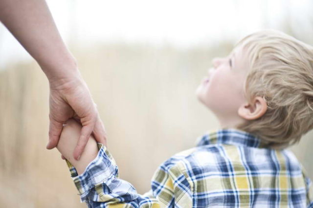 Ребенок с отцом